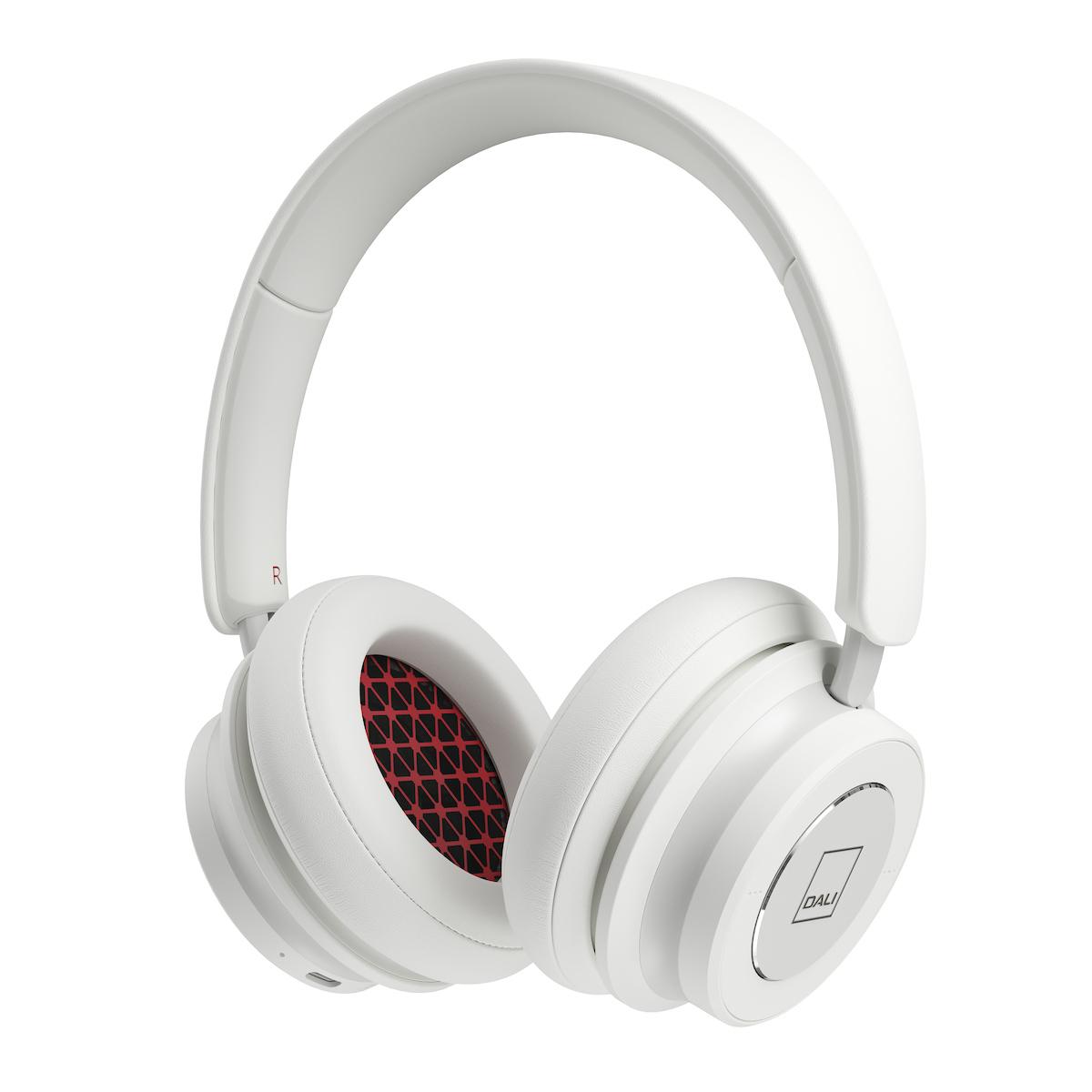 Dali IO-6 Bluetooth-Kopfhörer 5.0 mit Active Noise Cancelling (30 Stunden Laufzeit) weiss