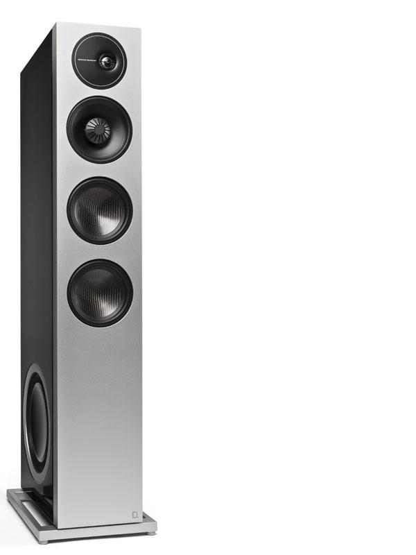 Definitive Technology Demand D 17 Stand Speaker black right
