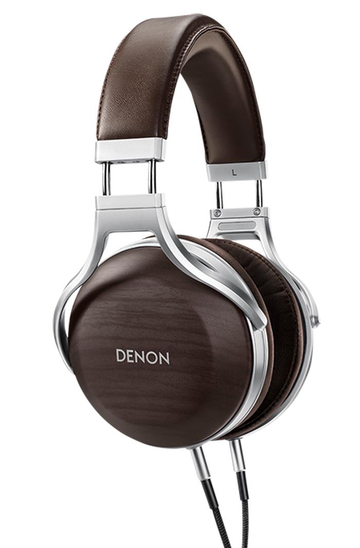 Denon AH-D5200 Premium Kopfhörer schwarz/silber