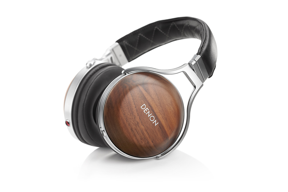 Denon AH-D7200 Reference Headphone Walnut/silver (checked Return)