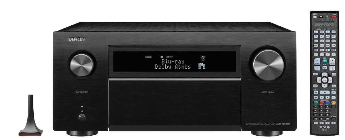 Denon AVC-X8500HA 13.2 Kanal 8K-AV-Receiver mit Amazon Alexa-Sprachsteuerung