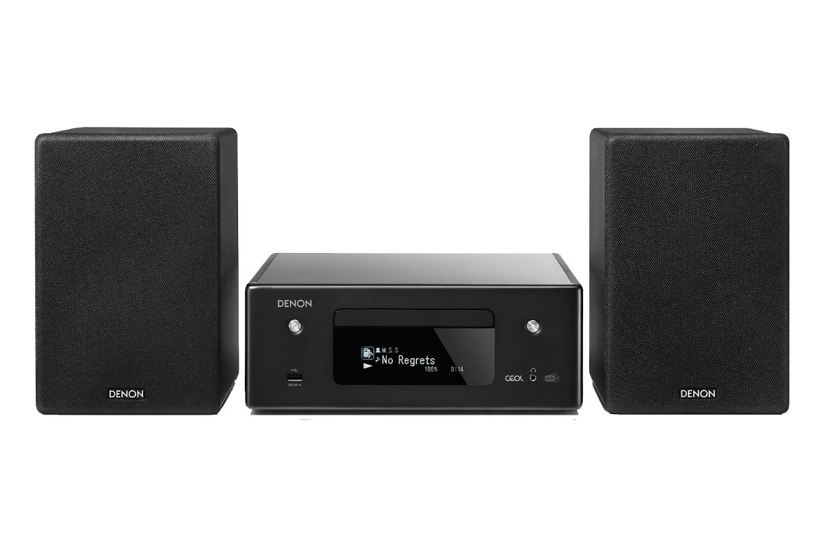 Denon CEOL-N11DAB mit Netzwerk- und CD-Player Komplettsystem incl. Lautsprecher