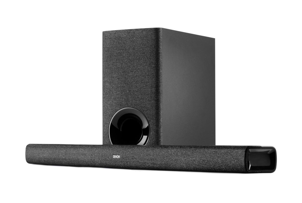 Denon DHT-S416H Soundbar with wireless Subwoofer and Google Chromecast, black