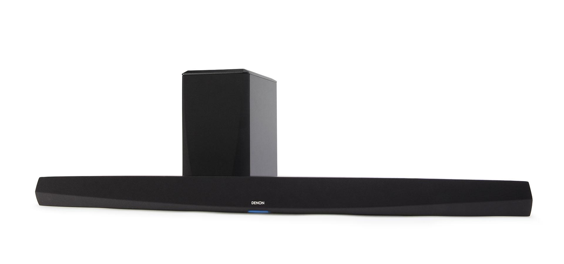 Denon DHT-S516H Soundbar mit drahtlosem Subwoofer und HEOS Built-In, schwarz (geprüfte Retoure)
