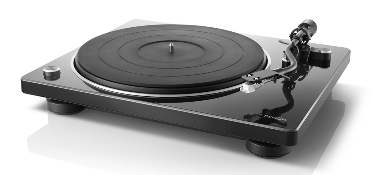 Denon DP-400 Plattenspieler mit integr. MM/MC Phonovorverstärker schwarz
