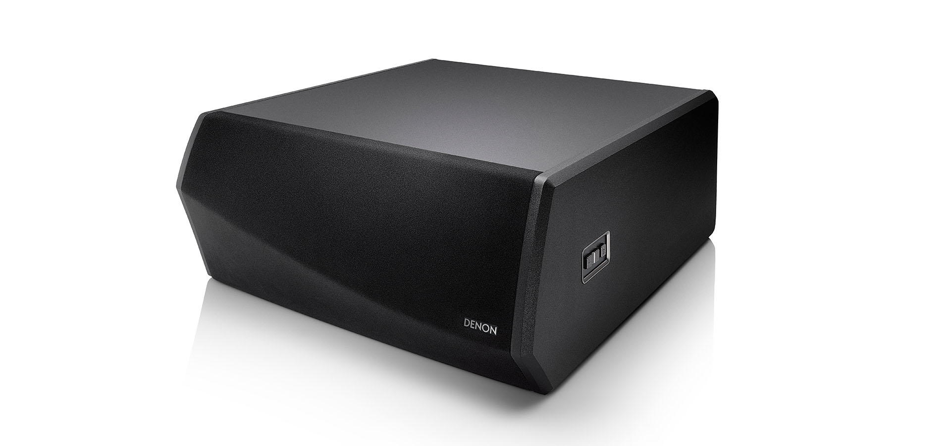 Denon DSW-1H Wireless Subwoofer mit HEOS Built-in schwarz