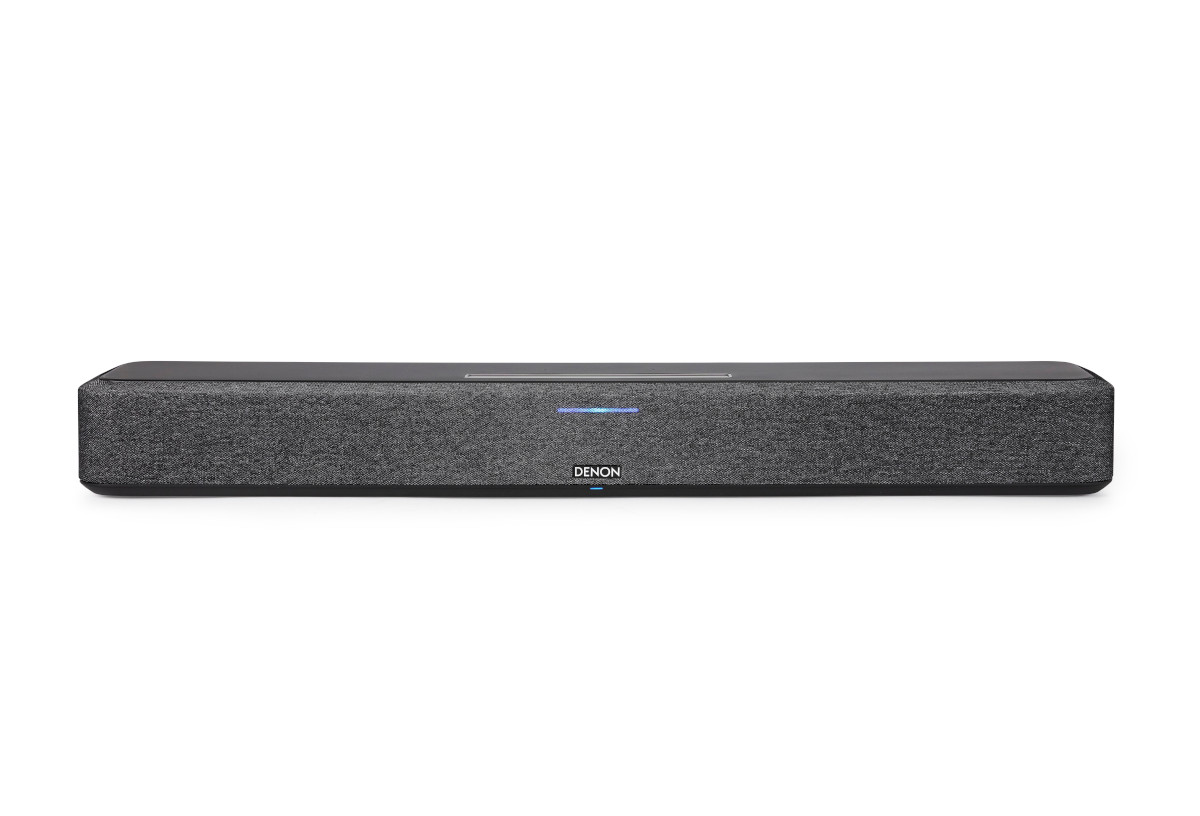 Denon Home 550 Wireless Soundbar mit Heos, AirPlay, Google Home und Amazon Alexa