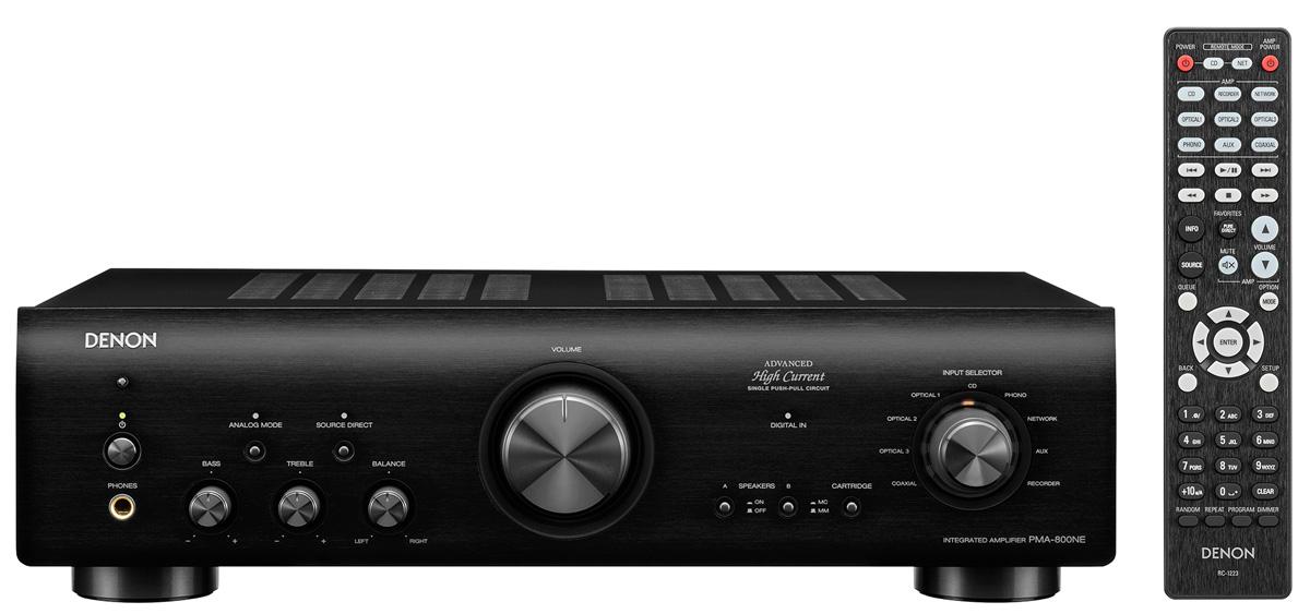 Denon PMA 800 NE Integrated Amplifier with DAC and MM/MC Phono