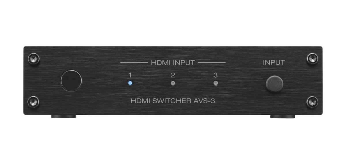 Denon AVS-3 HDMI Switch 3 Eingänge / 1 Ausgang, schwarz