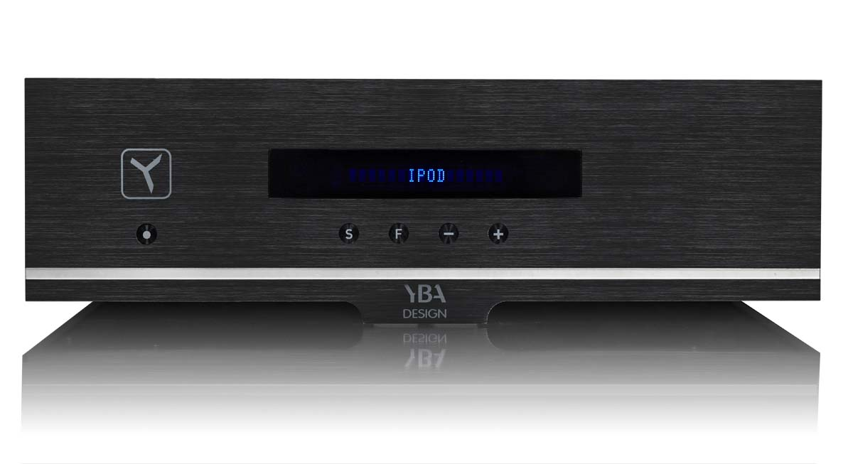 YBA Design WA 202 Stereo-Receiver, Alu black (Demomodel)
