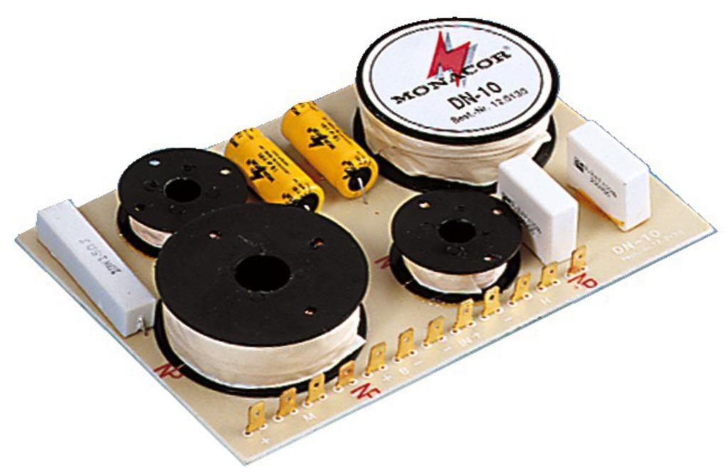 Monacor Frequenzweiche 3-WEG DN-10