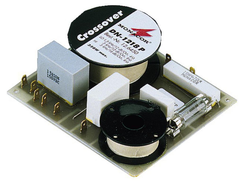 Monacor Frequenzweiche 2-WEG DN-1218P