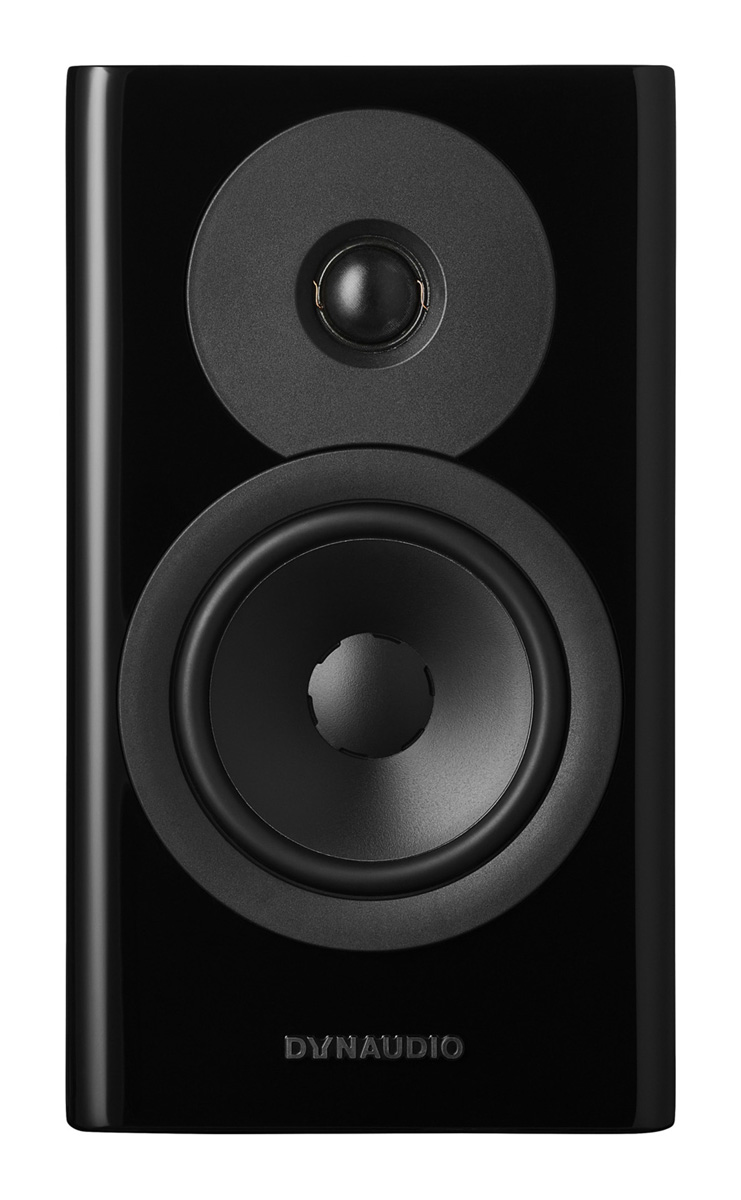 Dynaudio Evoke 10 Regal-Lautsprecher hochglanz schwarz