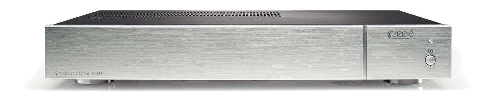 Creek Evolution 50P Stereo Endverstärker Silber
