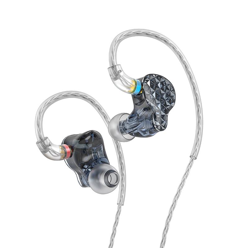 Fiio FA9 In-Ear 6-way High-End Headphones black