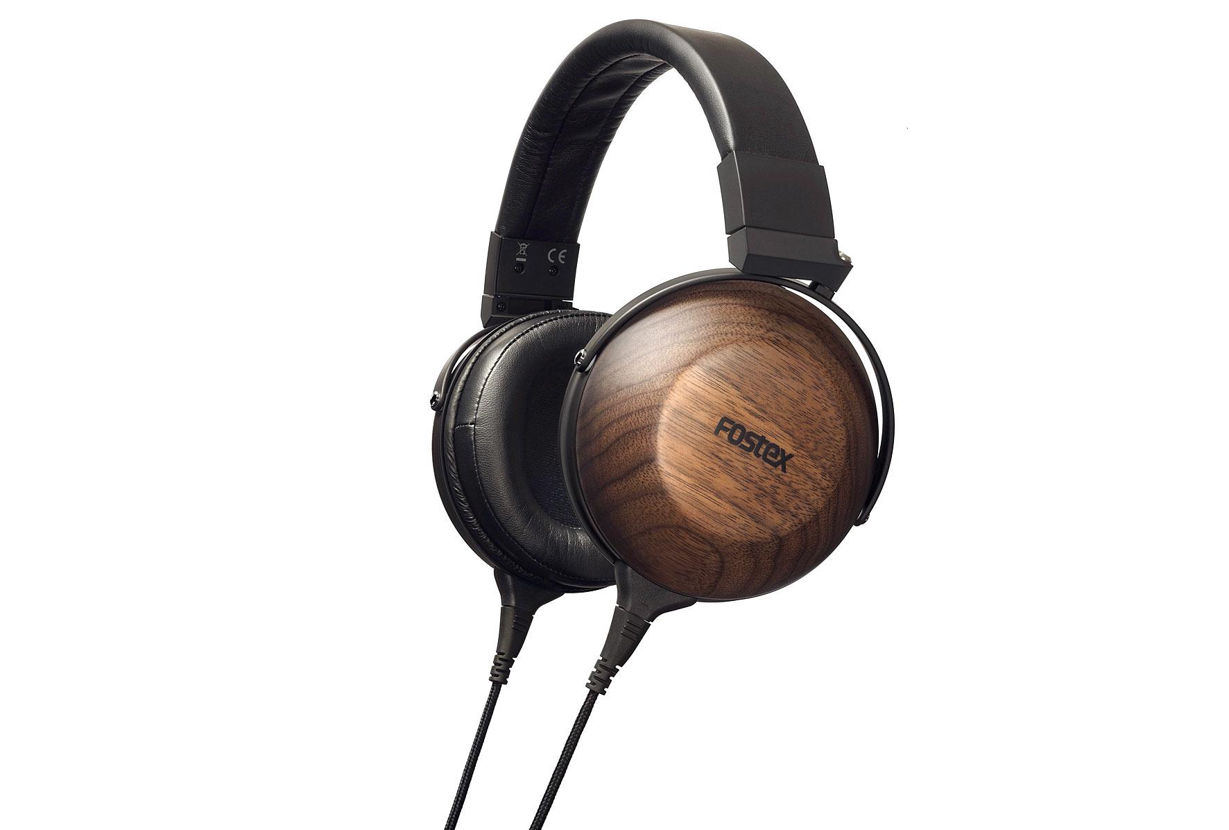 Fostex TH-610 High-End Kopfhörer, Nussbaum/schwarz