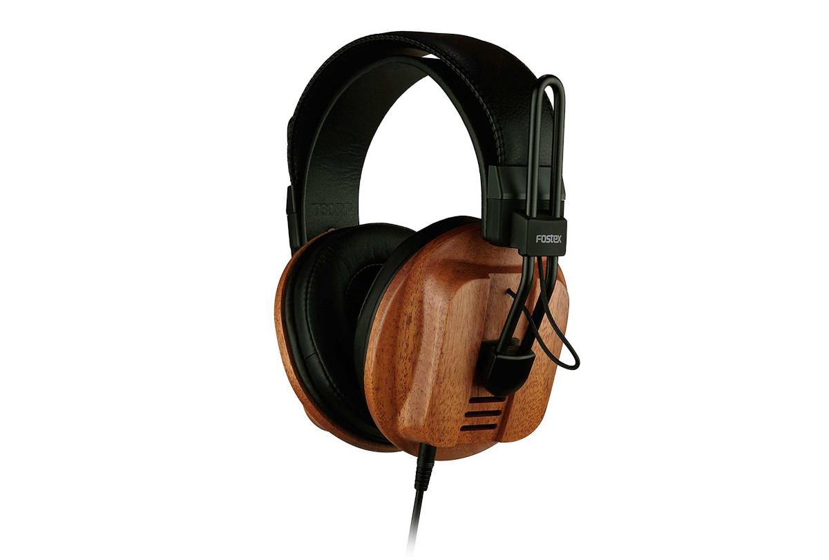 Fostex T60RP halboffener Bändchen-Kopfhörer, Mahagoni
