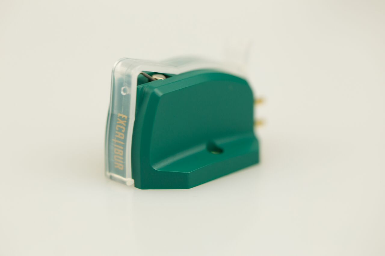 Excalibur Green High-Output MC Cartridge