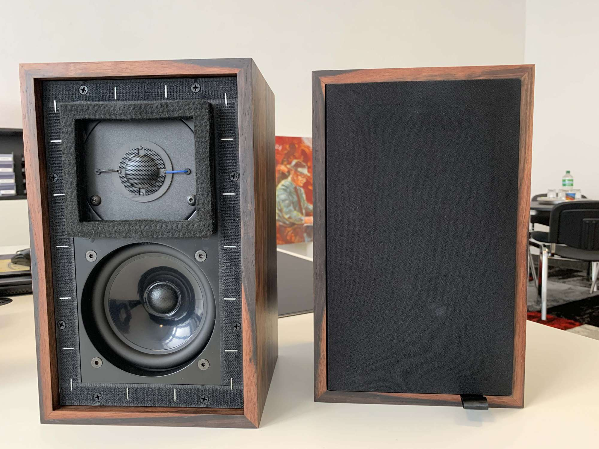 Harwood Acoustics Monitor LS 3/5A BBC Spezifikation, Palisander (Paar)