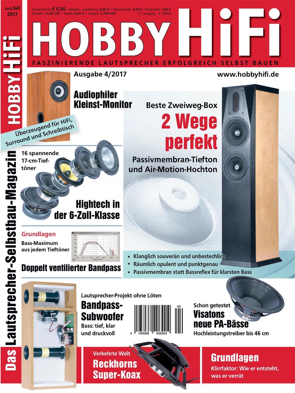 Hobby Hifi 2017 Issue 04-2017
