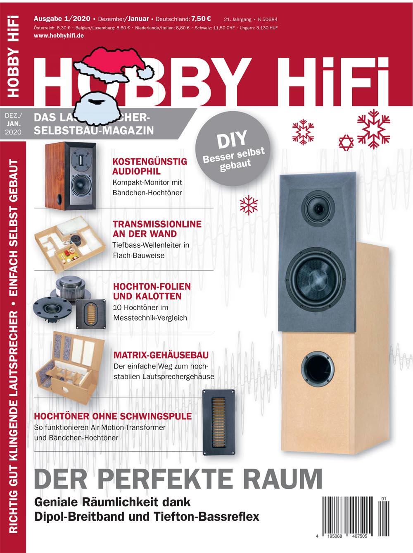 Hobby Hifi 2020 Ausgabe 01-2020