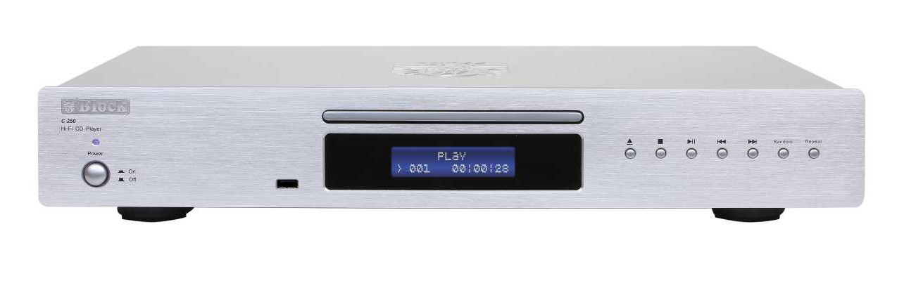 Block C-250 CD-Player Silber