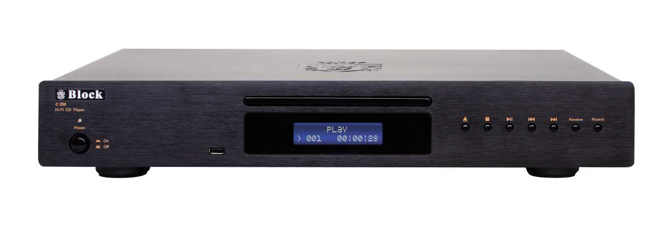 Block C-250 CD-Player schwarz