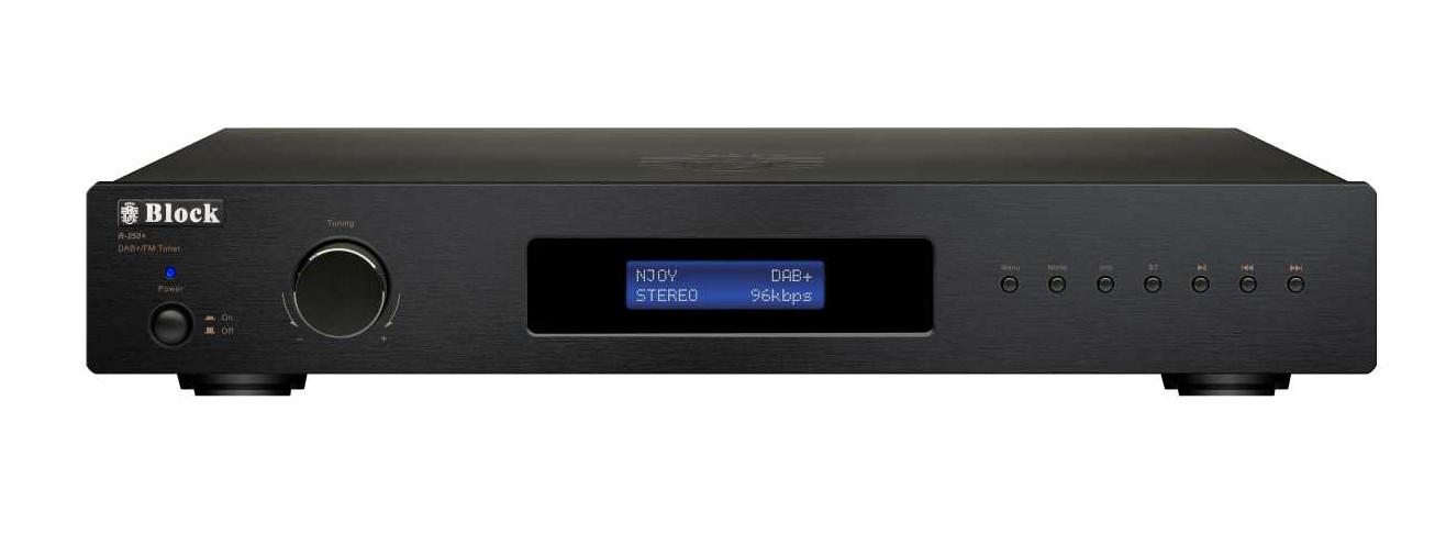 BlockR-250+ RDS Radio mit DAB+ Schwarz
