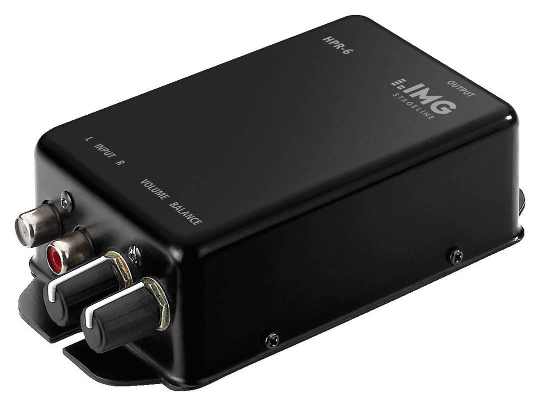 Monacor HPR 6  Stereo Kopfhörerverstärker