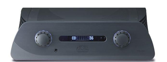 Atoll PR 400 Vorverstärker schwarz