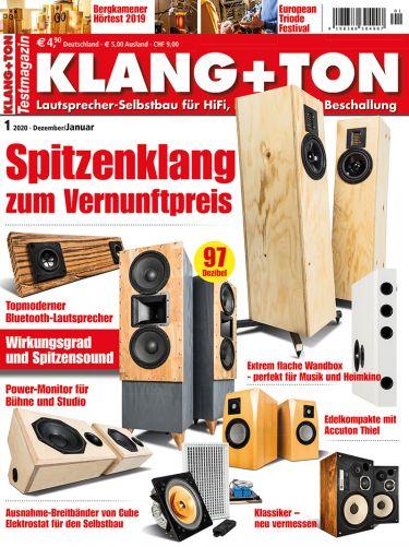 Klang + Ton Zeitschrift 2020