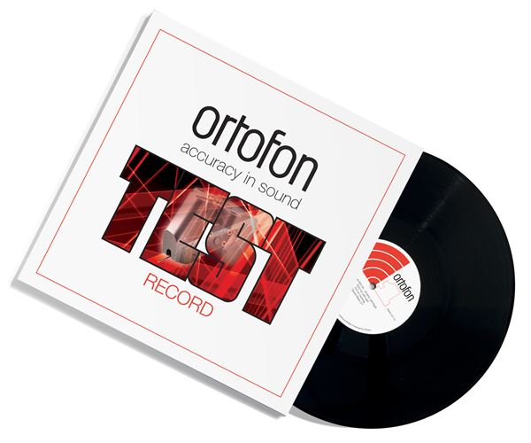 Ortofon Stereo Testschallplatte