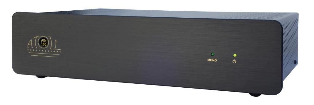 Atoll MA 100 Kompakt-Stereo Endstufe MIDI schwarz