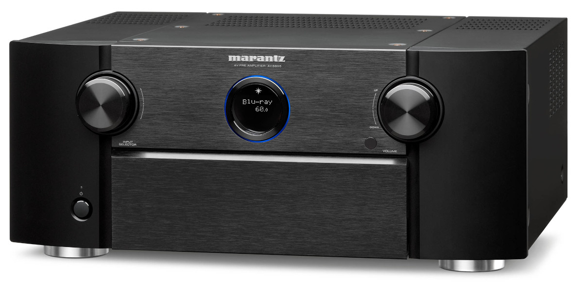 Marantz AV 8805A AV-Vorverstärker mit Dolby Atmos,Auro-3D,HEOS,AirPlay2 und Amazon Alexa