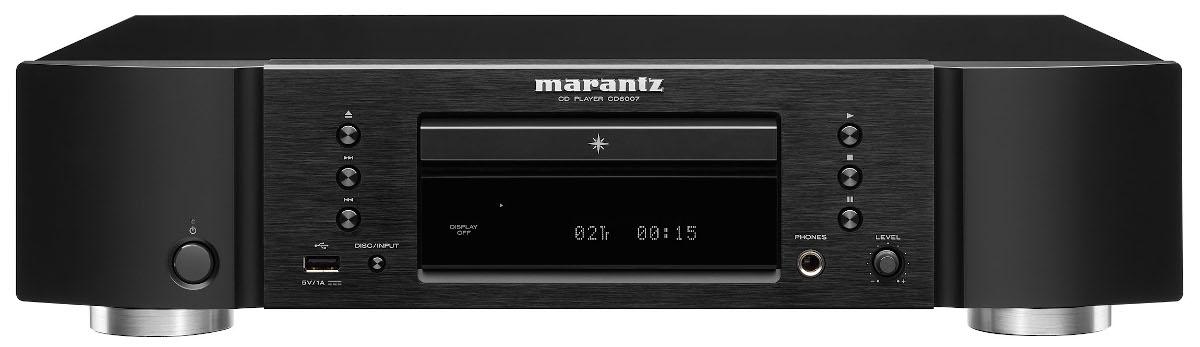 Marantz CD 6007 CD Player schwarz