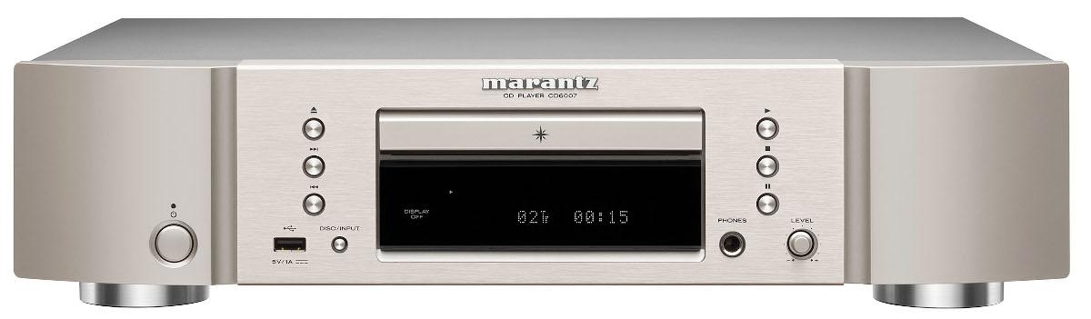 Marantz CD 6007 CD Player silber/gold