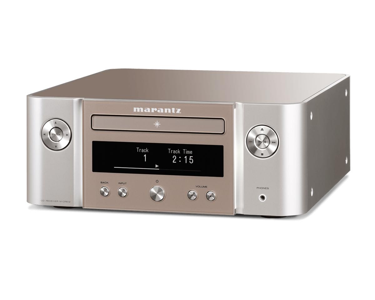Marantz M-CR 612 Melody X CD-Streaming-Receiver silber/gold