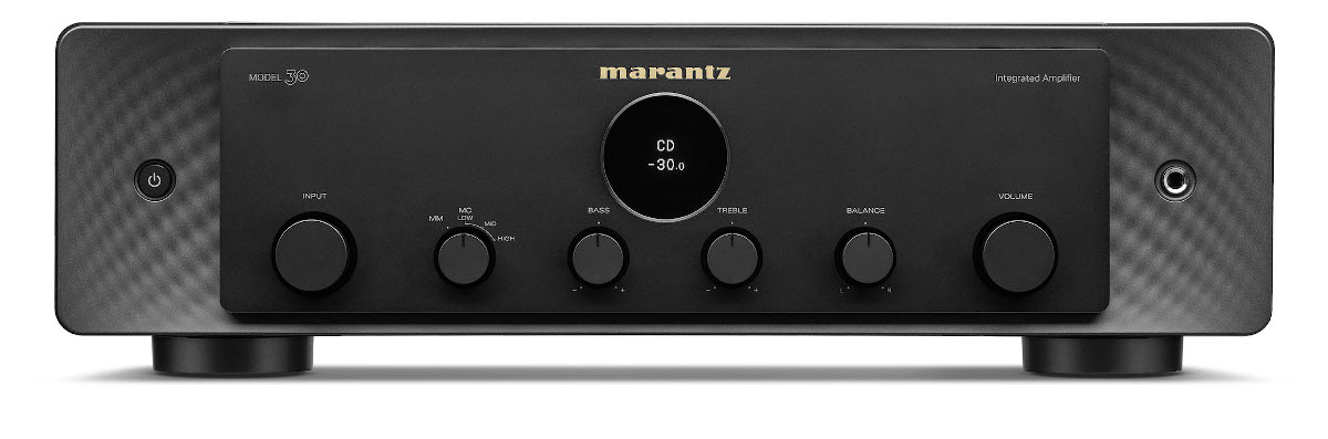 Marantz Model 30 Vollverstärker mit Phono schwarz