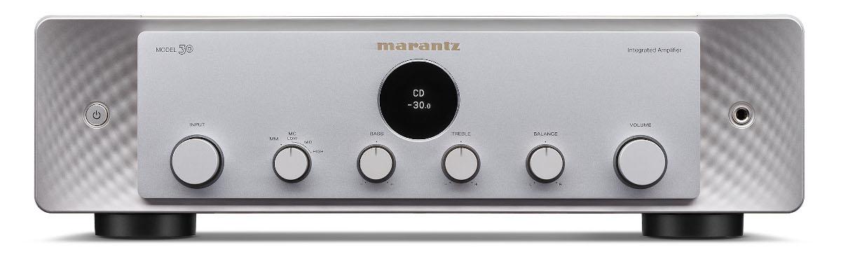 Marantz Model 30 Vollverstärker mit Phono silber/gold