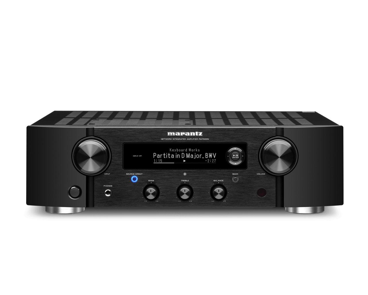 Marantz PM 7000 N Stereo-Vollverstärker mit HEOS Built-in schwarz