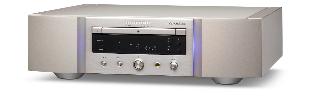 Marantz SA-12SE SA-CD-Player with DAC, Special Edition, silver-gold (checked return)