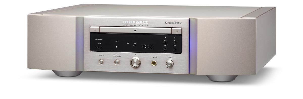 Marantz SA-12SE SA-CD-Player mit DAC, Special Edition silber/gold