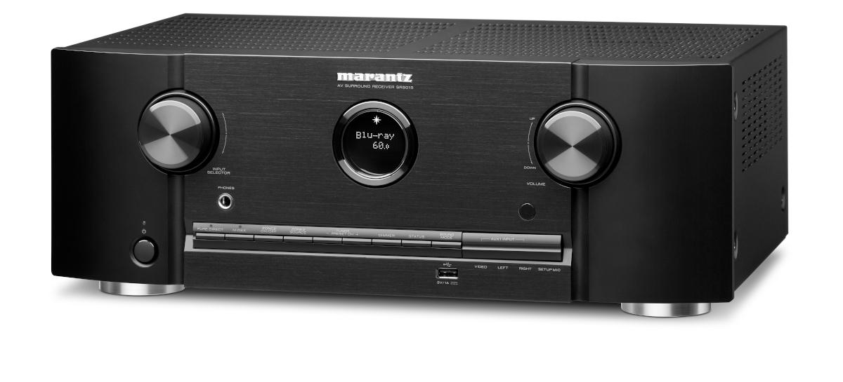 Marantz SR 5015 DAB AV-Receiver 7.2 Kanal Full 8K Ultra HD mit Heos, AirPlay2, Alexa