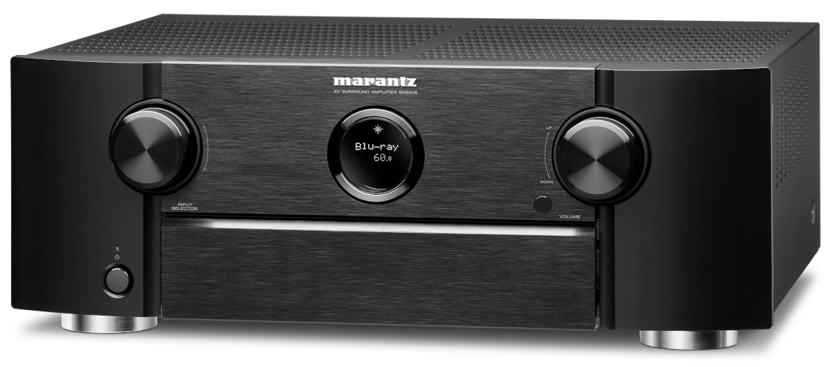 Marantz SR 6015 AV-Receiver 11.2 Kanal Full 8K Ultra HD mit Heos, AirPlay2, Alexa