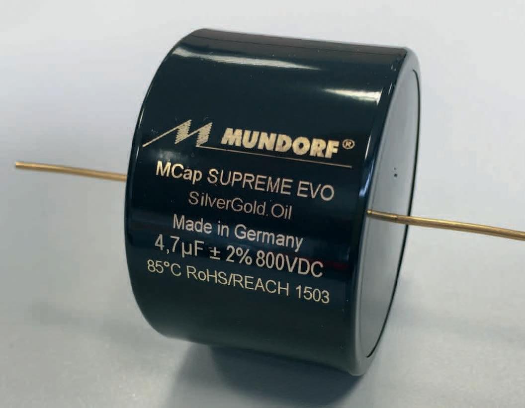 Mundorf M-Cap SUPREME EVO Silber/Gold/Oil 5,6 uF