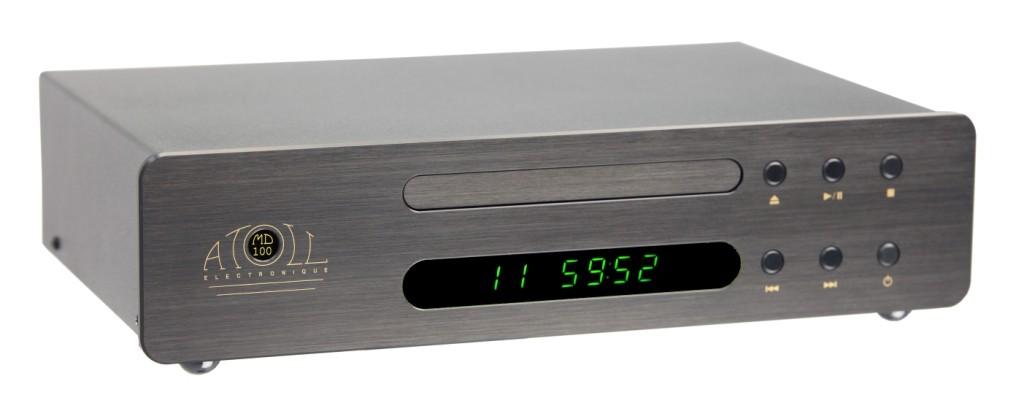 Atoll MD 100 CD-Player MIDI schwarz