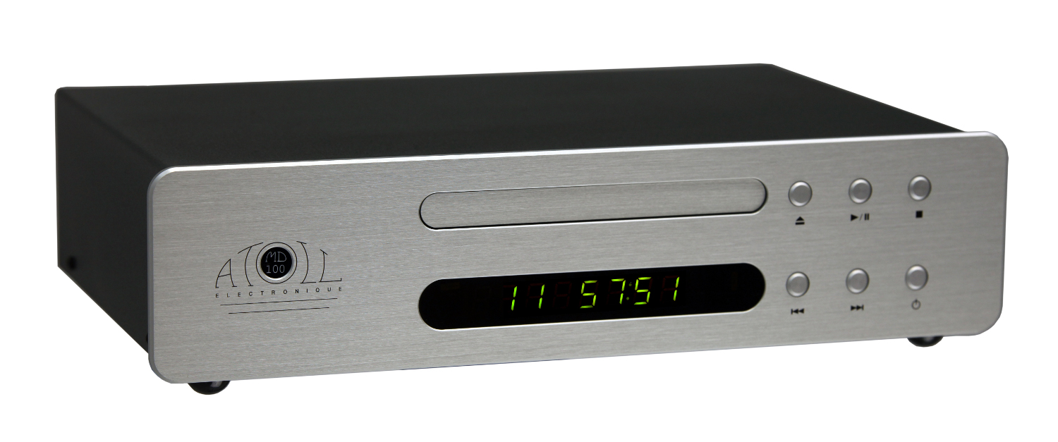 Atoll MD 100 CD-Player MIDI silver