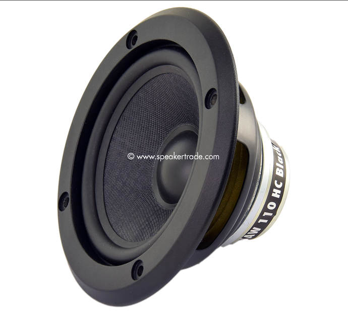 Mivoc XAW-110 HC Honeycomb High-End Woofer-Midrange, black