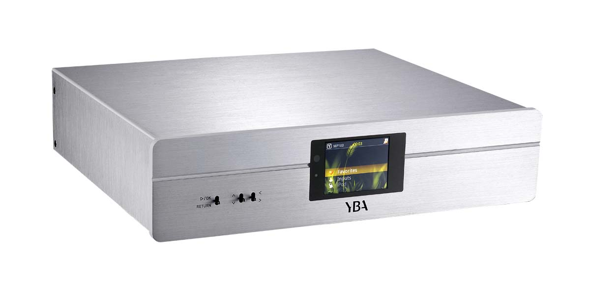 YBA Heritage MP 100 B Streamer, Bluetooth