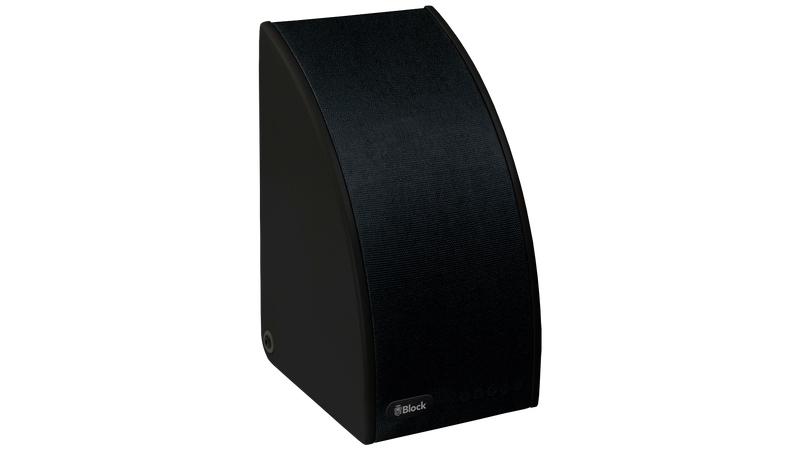 Block SB-100 Multiroom-Lautsprecher Schwarz
